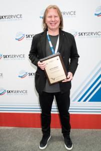 Виктор Дробыш получил награду от SKYSERVICE 2018